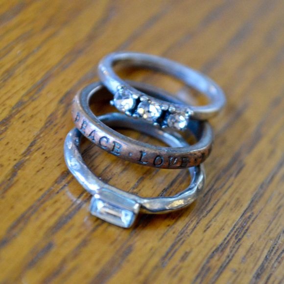 AE Diamond Stackable Rings
