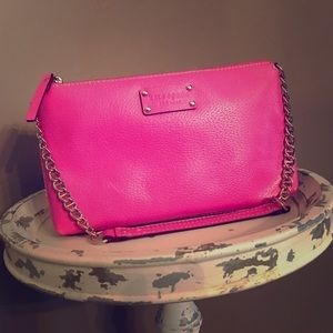 Kate Spade Byrd Wellesley Pink Leather Small Bag