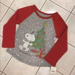 Peanuts Other - 🔴NWT Peanuts Snoopy Christmas Long Sleeve Shirt