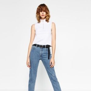 Zara High neck top