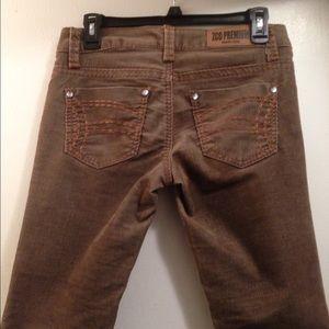 ZCO Premium corduroys brown/tan pants.