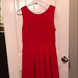Red ModCloth Dress Like New