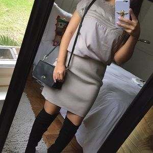 Vince Camuto Dresses & Skirts - [Vince Camuto] grey knit dress