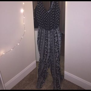 Forever 21 Other - Black and White jump suit