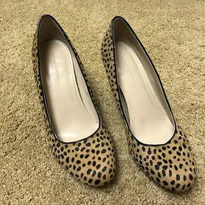 Banana Republic Shoes - Leopard, Calf- Hair Wedges
