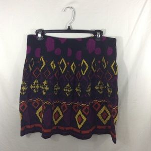 Dolce Vita Skirts - DOLCE VITA tribal print pleated mini skirt