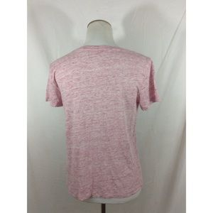 Forever 21 Tops - FOREVER21 pink marbled graphic short sleeve too
