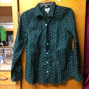 Hunter Green Dress Shirt