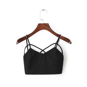 Other - the strappy front bralette