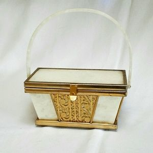 Vintage Lucite Box Bag- Coming Soon!