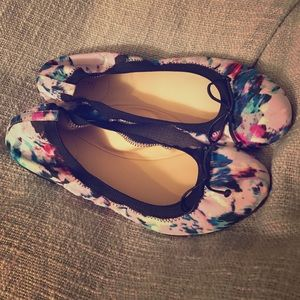 J.Crew watercolor flats