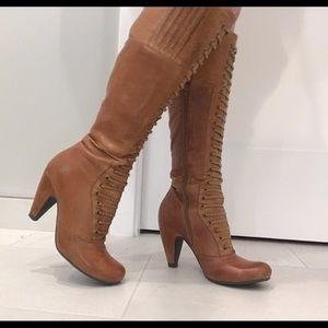 Miz Mooz Shoes - Leather Boots Size 6