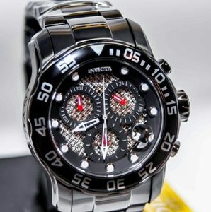 Invicta Other - NWT $800 Invicta pro driver 4 hand black watch