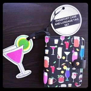 Under One Sky Bags - Travel Passport Wallet, & Luggage Tag Set [AC-11]