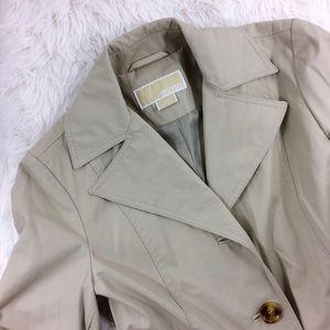 Michael Kors Jackets & Blazers - MICHAEL KORS beige long trench coat