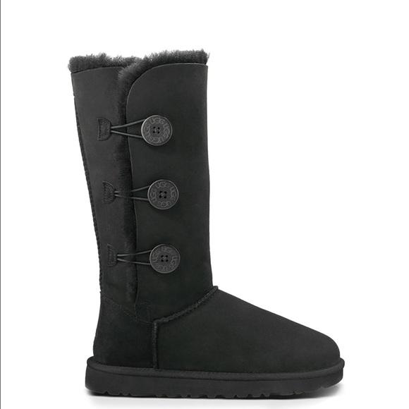ugg boots size 10 black