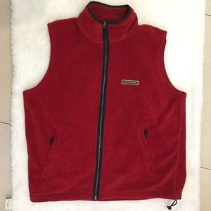 Abercrombie & Fitch Other - Abercrombie & Fitch Red Fleece Vest siZe XL
