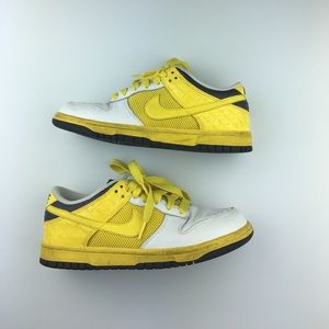 Nike Shoes - Yellow, grey, and white nike sneakers. Sz 7 woman