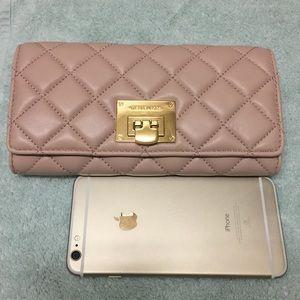 kate spade Handbags - New Michael Kors Astrid lamb leather wallet