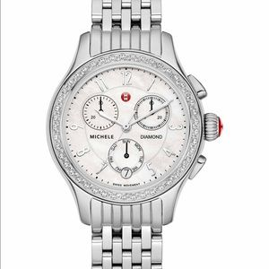 Michele Accessories - Michele Jetaway watch NEW Authentic