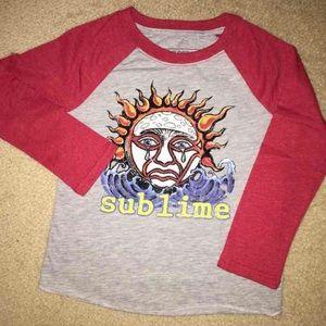 NWT Boys Girls Sublime Long Sleeve Shirt