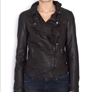 Muubaa Jackets & Blazers - Muubaa Monteria Black Leather Jacket