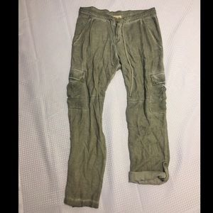 Cloth & Stone Anthropologie rolled utility cargo