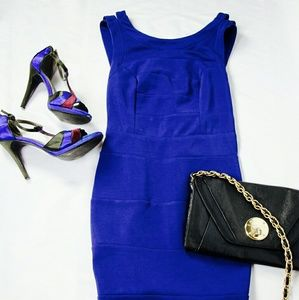 Ark & Co Dresses & Skirts - [Ark & Co] Strap Back Bandage Dress