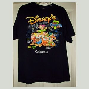 Disney California Adventure 7 Dwarfs T-Shirt LRG