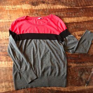 Halogen Colorblock Sweater