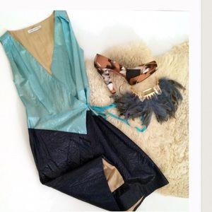 Behnaz Sarafpour Dresses & Skirts - Behnaz Sarafpour silk wrap dress