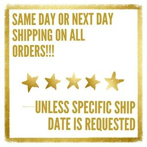 Other - SAME DAY SHIPPING