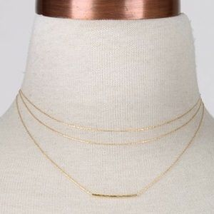 Boutique Jewelry - Delicate Gold Chain necklace