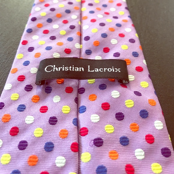 89 off christian lacroix other christian lacroix neck tie purple from ta - Christian lacroix accessories ...