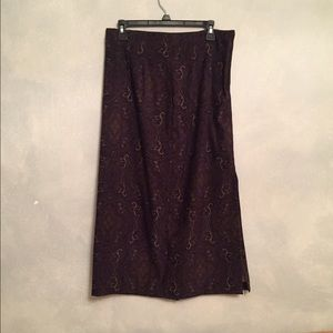 Cute Vintage Purple Skirt