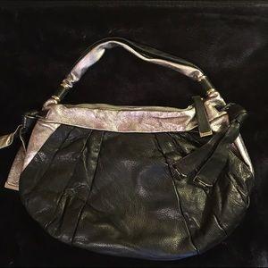 b. makowsky Handbags - B Makowsky black and silver purse