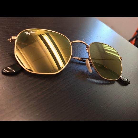 a3706b819b6 Brand New Ray Ban Hexagonal Flat Lenses. M 5898a0dbf092823a7100aef2