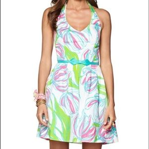 EUC Lilly Pulitzer Ross Halter Dress