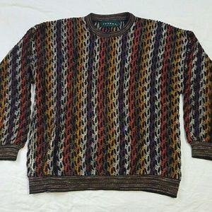 Tundra Other - Tundra Canada Coogi Style Colorful Sweater