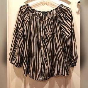 Forever 21 - Zebra Print Blouse