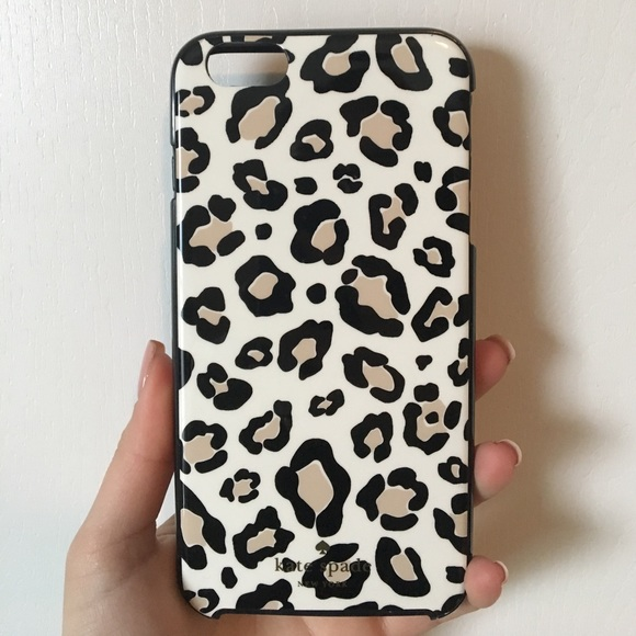 huge discount 7bb83 a9654 Kate Spade Leopard iPhone 6 Plus Case