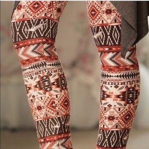 Infinity Raine Pants - Adorable tribal print leggings