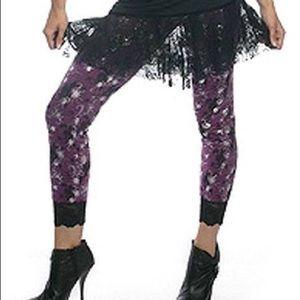 lip service Pants - Lip service rate nightmare knit spider leggings S