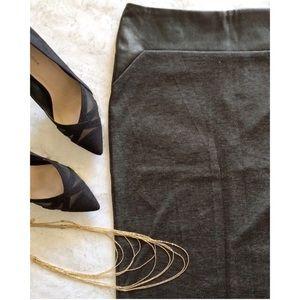 ALLOY Dresses & Skirts - 🦄SALE🦄 Leather-trim Knit Pencil Skirt