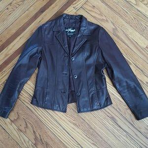 Maxima Jackets & Blazers - Leather Jacket