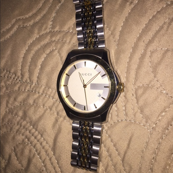 38 off gucci other gucci g stainless steel watch retail price 1050 from philip 39 s closet on for Retail price watches