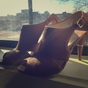 Escada Shoes - Escada Peep Toe Heels