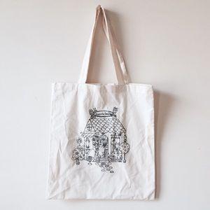Anna Sui Handbags - Anna Sui graphic canvas tote