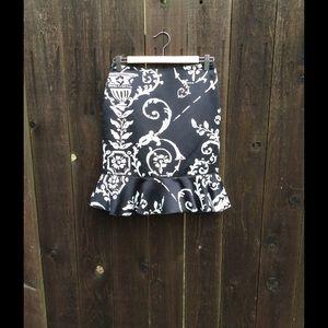 White House / Black Market Skirt