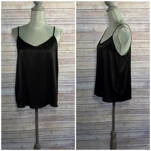 DREW Tops - {DREW} Black Sexy Camisole Tank Blouse, NWT, $156